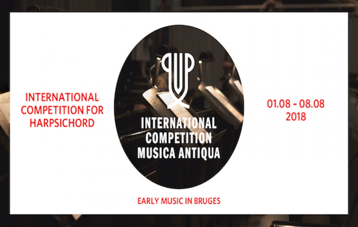 International Competition Musica Antiqua focuses on the harpsichord in 2018