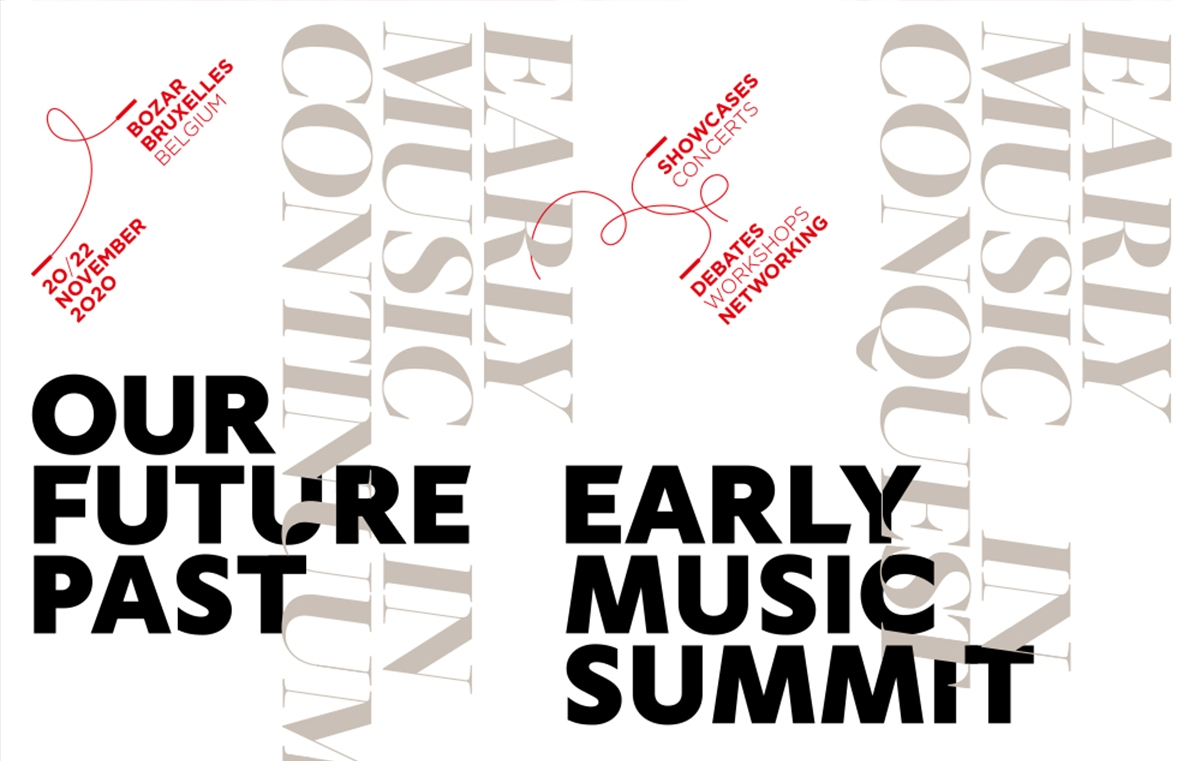 Early Music Summit - Registration is open until 16 November!