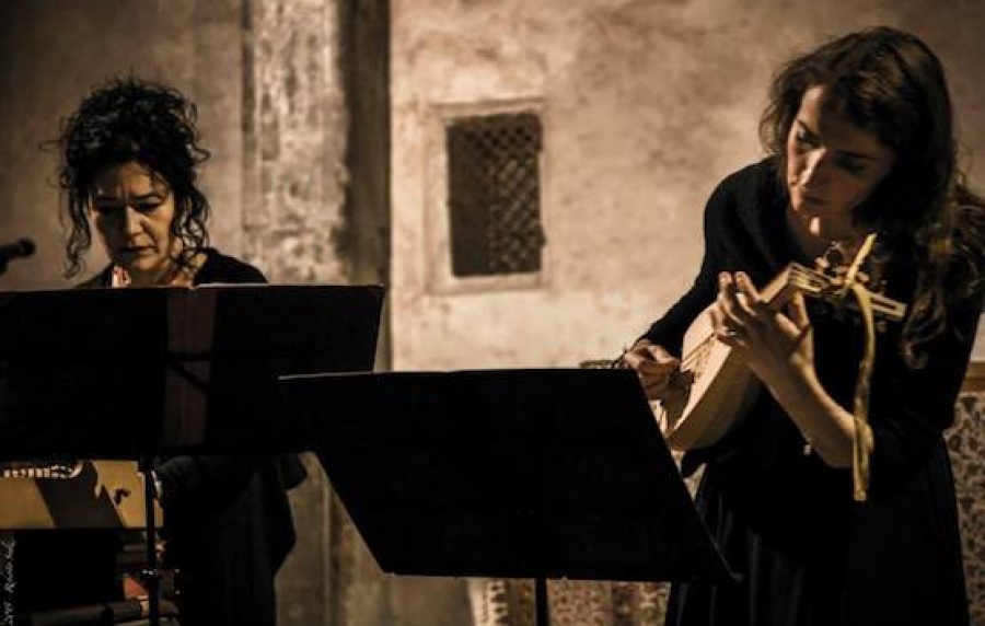Wunderkammer at the Conservatory of Music of Trieste to celebrate EDEM with Claudia Caffagni and Paola Erdas.