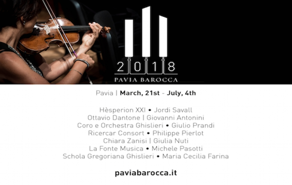 PAVIA BAROCCA 2018 | from march 21st to july 4th