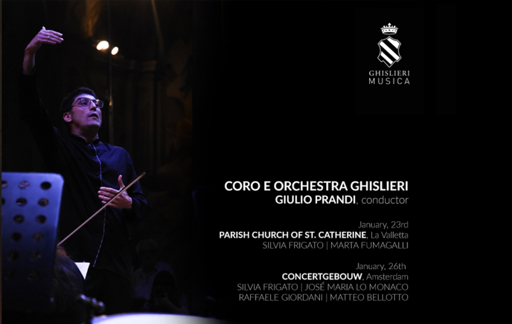 Ghislierimusica begins 2019 with two concerts