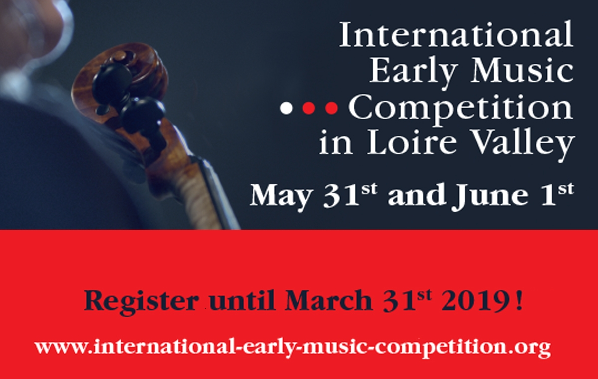 International Early Music Competition in Loire Valley