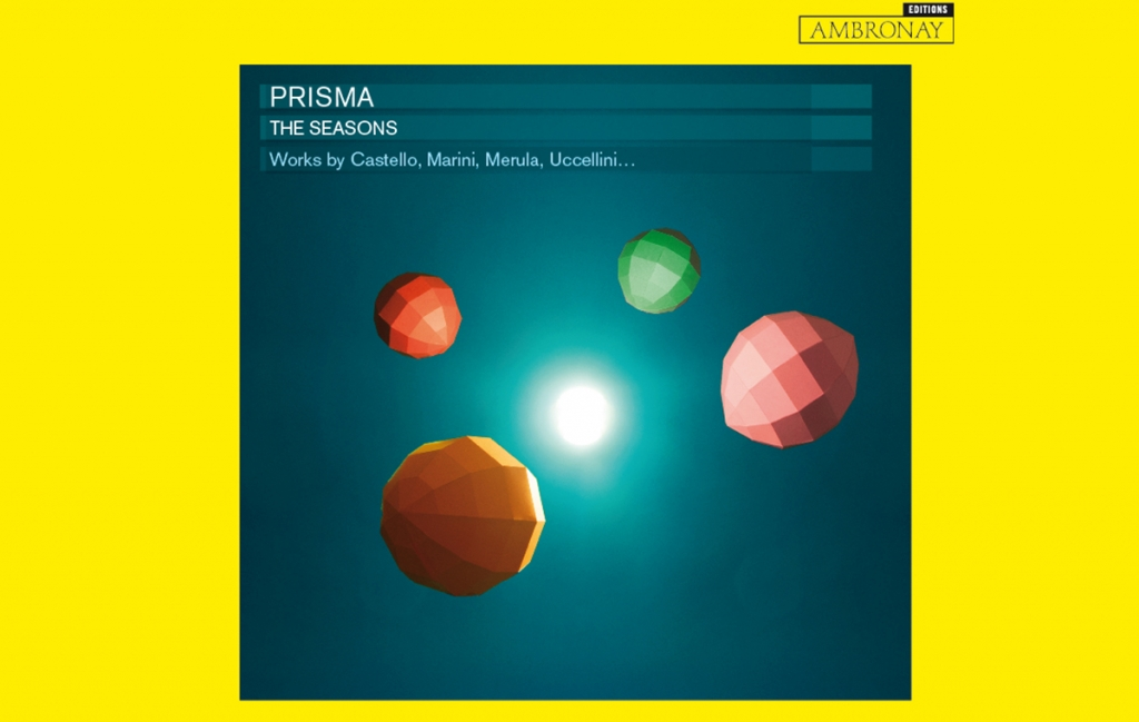 "CD ""The Seasons"" on Ambronay Edition - PRISMA"