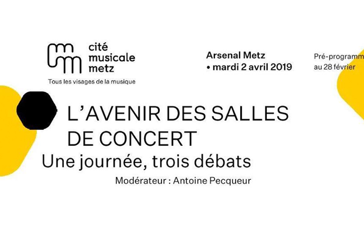 FUTUR OF CONCERT HALLS - ARSENAL METZ