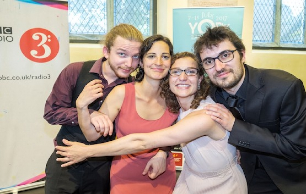 BARROCOTOUT win 2017 York Early Music International Young Artists Competition