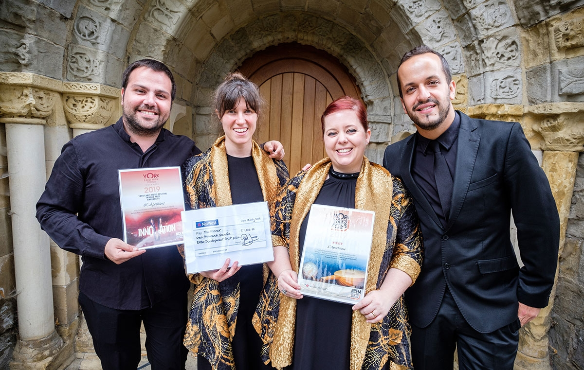 PALMARÈS - YORK INTERNATIONAL YOUNG ARTISTS COMPETITION