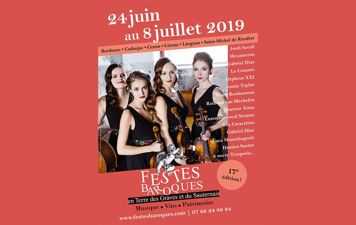 17th edition of the Festival des Festes Baroques