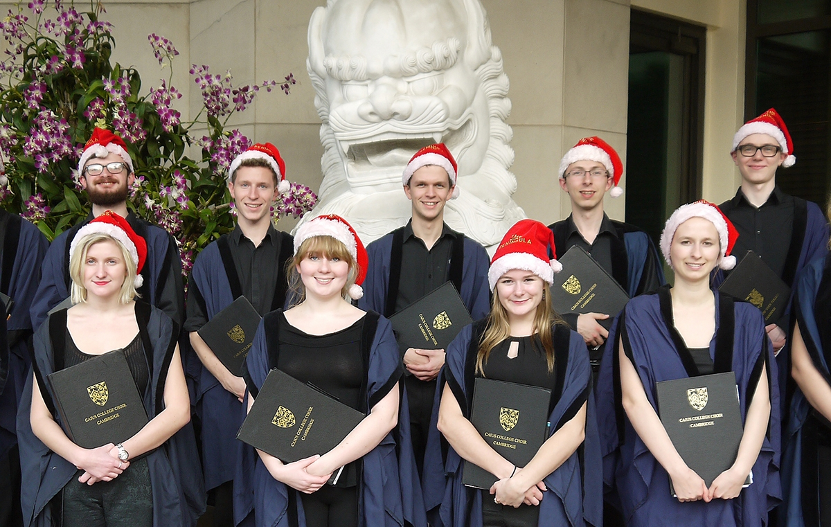 The Caius to a Baroque Christmas